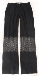 Sandro Black Sheer Ne Pants