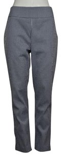 Sara Campbell Womens Checkered Casual Trousers Pants
