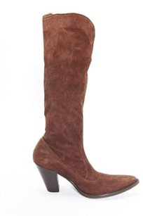 Sartore Womens Suede Brown Boots