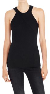 sass & bide Fitted Knit Blouse Beauty Top Black