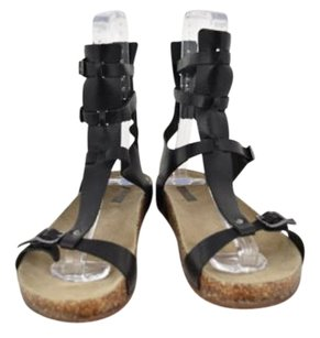SCHUTZ Womens Leather Black Sandals