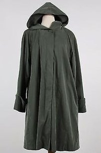 Searle Womens Solid Trench Coat