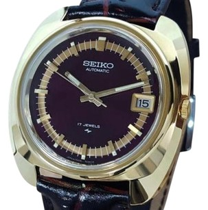 Seiko Seiko 7005 7089 Automatic Vintage Gold Plated Mens 1970s Collectible Watch La73