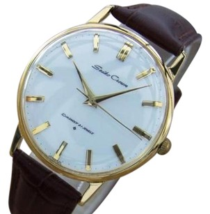 Seiko Seiko Crown 1950s Manual Mens Gold Plated Made In Japan Dress Watch Q48