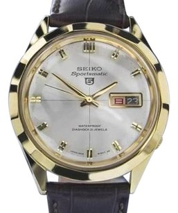 Seiko Seiko Sportsmatic Jumbo Made In Japan Day Date 1960 Mens Automatic Watch 7052