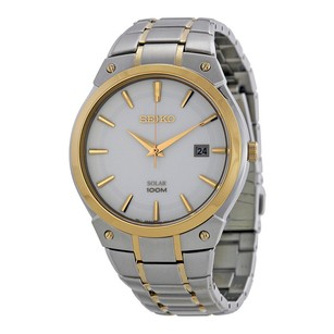 Seiko Seiko White Dial Stainless Steel Watch