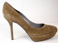 Sergio Rossi Light Brown Platforms