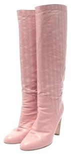 Sergio Rossi Pink Boots