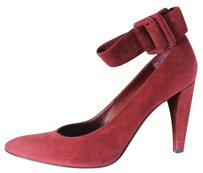 Sergio Rossi Strappy Wine Pumps