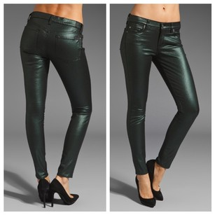 Seven7 7forallmankind Skinny Waxed Skinny Jeans-Coated