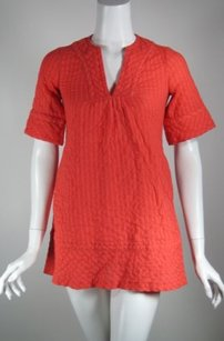 Shoshanna Tunic Top Red