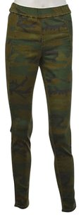 Silence + Noise Amp Womens Green Casual Trousers Pants