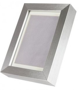 Silver Table Number Frame Pewter Photo Frame