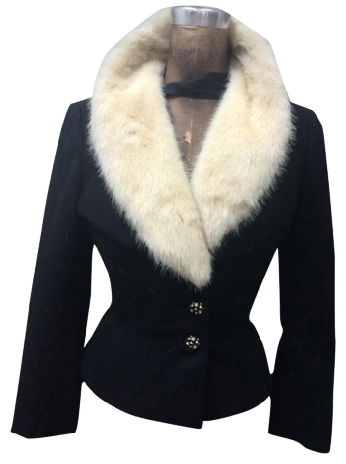 Simmonds Vintage Blazer fur collar
