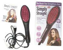 Vera Wang Simply Straight Ceramic Straightening Brush As Seen On TV BOX TAPED