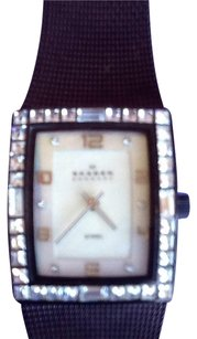 Skagen Denmark Cognac Colored Mesh Skagen Womens Watch