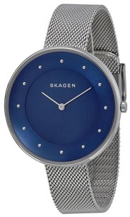 Skagen Denmark SKW2293 Blue Dial Stainless Steel Women's Watch