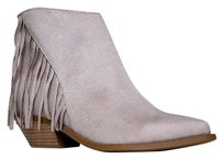 Soda Blu Closed-toe Gray Boots