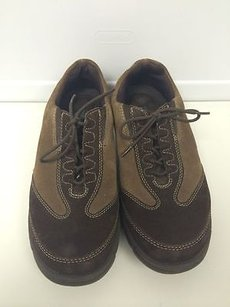 SoftWalk Soft Walk Lace Up Brown Athletic