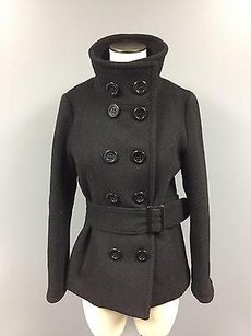 Soia & Kyo 100 Soft Casual Front Button Basic 3890a Pea Coat