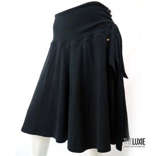 Sonia Rykiel Gr8 As Cover Up Or With Top Amazing Skirt BLACK