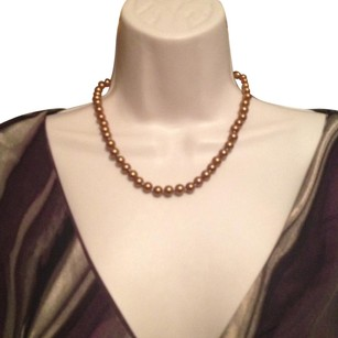 South Sea Chocolate South Sea Shell Pearl Necklace 18