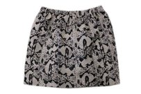 Sparkle & Fade Urban Outfitters Mini Skirt Gray Black