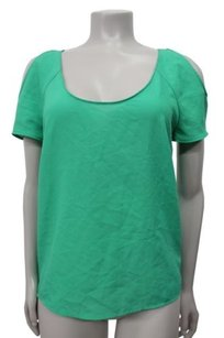 Sparkle & Fade Cold Hi Low Urban Outfitters Top Green