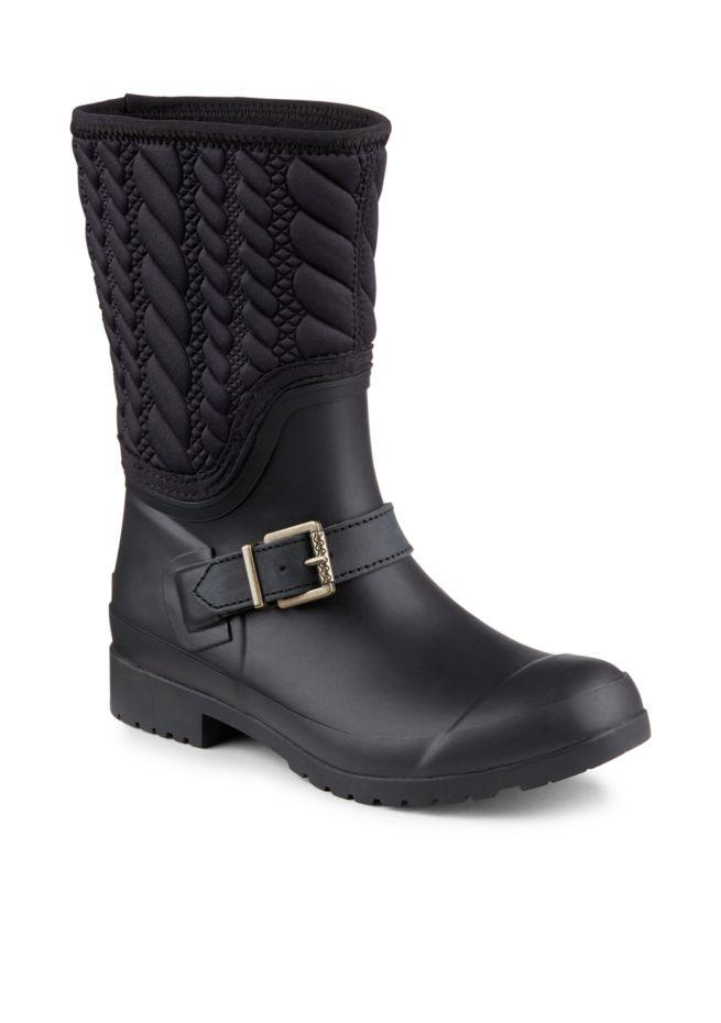 948fb2fe2 Sperry Black Sperry(R) Walker Gray Rope Rain Boots Booties Size US US US 9  3c6882