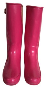 Sperry Pink Boots