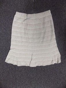 St. John St Collection Skirt Beige And White