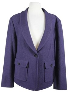 St. John St Womens Blazer Purple Jacket