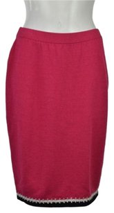St. John St Collection Marie Gray Skirt Pink