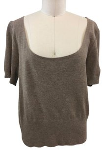 St. John Collection Scoop Neck Ss Sweater