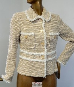 St. John St John Collection Fringe Knit Jacket Usa 2011