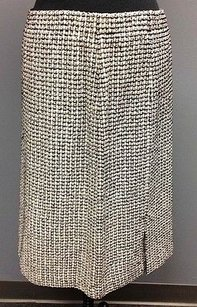 St. John Couture Multicolor Wool Skirt Multi-Color