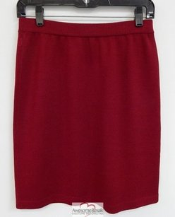 St. John St Evening Knit Skirt Red