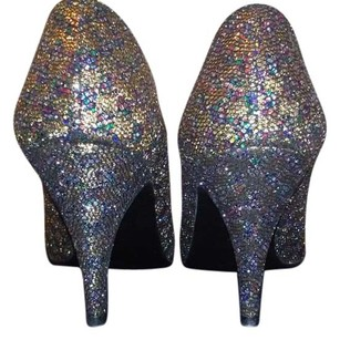 St. Michael Christian Louboutin Multicolor Glitter Pumps