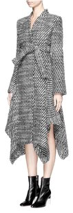 Stella McCartney 38 Asymmetric Hem Ld Coat