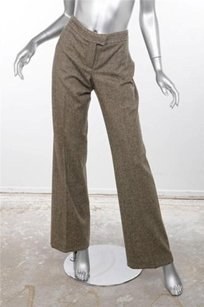 Stella McCartney Gray Brown Pants