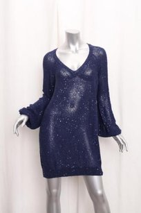 Stella McCartney short dress Blue Womens Navy on Tradesy