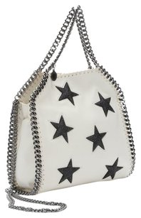 Stella McCartney Tote in IVORY/BLACK