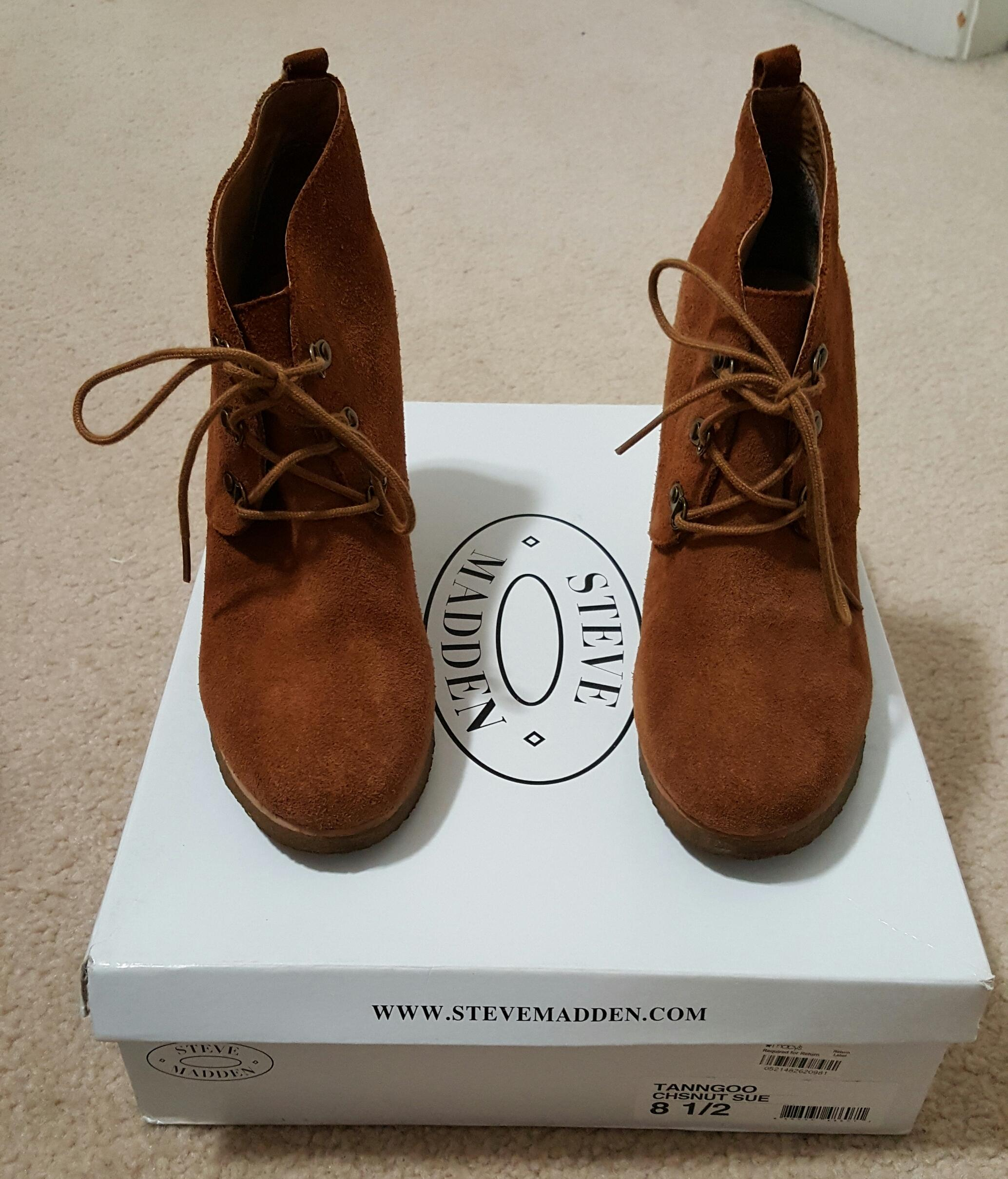 Steve Madden Chestnut (Suede) Tanngoo Boots/Booties