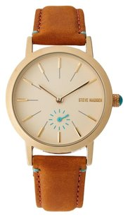 Steve Madden SMW017G-BR Gold-Tone & Turquoise Watch