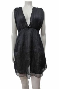 Steve Madden short dress Black Plunge on Tradesy