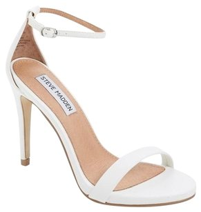 Steve Madden White Sandals