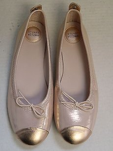 Stuart Weitzman Leather Pink Flats