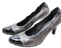 Stuart Weitzman Classy Sale Gunmetal Comfortable Silver and black Pumps