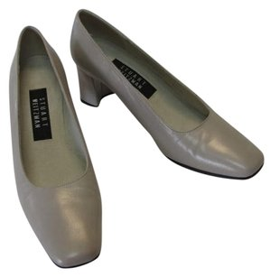 Stuart Weitzman Good Condition Size 6.50 M GRAY Pumps