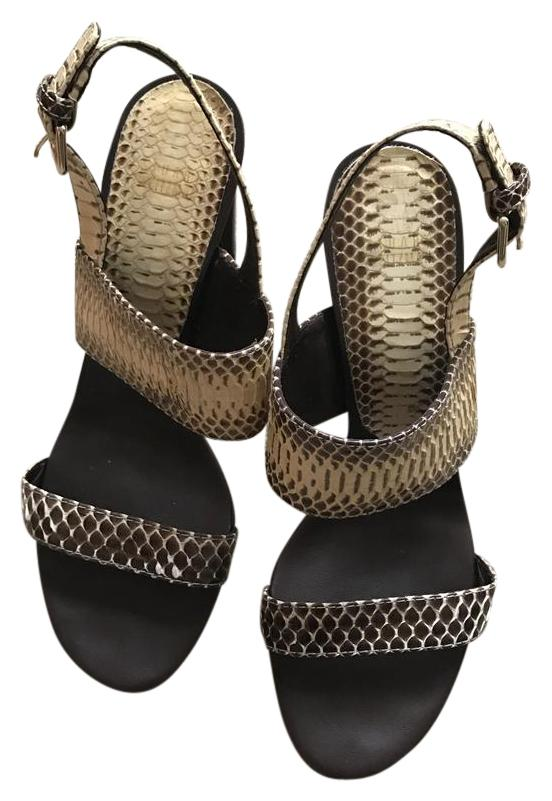 Stuart Weitzman Snakeskin Slingback Sandals excellent cheap price discount cheap online JbSPoO